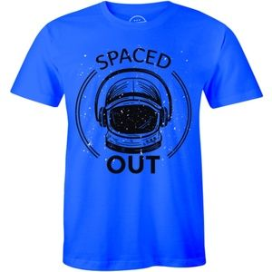 Space Out Astronaut - Funny Comic Slogan T-shirt